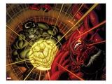 Hulk No.24: Hulk Fighting Art by Ed McGuinness