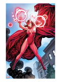 Avengers Vs. X-Men No.0: Scarlet Witch Flying with Energy Posters by Frank Cho