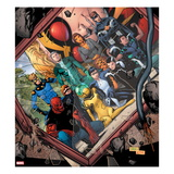Avengers Academy No.20 Cover: Mettle, Hazmat, Finesse, Striker, Quicksilver, Tigra, Wasp and Others Prints