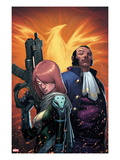 Generation Hope No.15 Cover: Hope Summers, and Sebastian Shaw Posters by Jorge Molina