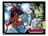 X-Men No.1: 20th Anniversary Edition: Magneto Flying in Space with Energy Art by Jim Lee