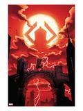 The Mighty Thor No.3 Cover: Thor Facing Galactus Poster par Olivier Coipel