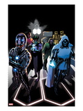 FF 8 Cover: Dr. Doom, Wizard, Diablo and Others Standing Posters by Daniel Acuna
