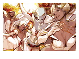 X-Men Evolutions 1: Emma Frost Prints by Greg Tocchini