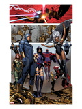 Uncanny X-Men No.4: Cyclops, Storm, Psylocke, Magneto, Hope Summers, Namor, Magik, Colossus, Danger Art by Brandon Peterson
