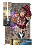 Iron Age 3: Iron Man and Dazzler Flying Posters par Todd Nauck