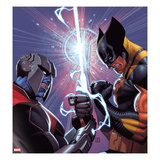 Fear Itself: Wolverine No.2 Cover: Wolverine Fighting Prints by Jorge Molina