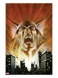 Thor: Heaven & Earth 2: Thor Screaming Prints by Mark Texeira