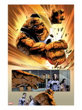 FF No.2: Panels with Thing Smashing Poster by Steve Epting