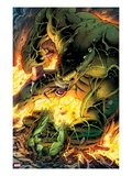 Incredible Hulks No.619: Hulk Trapped Prints by Paul Pelletier