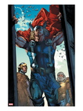 Thor: The Rage of Thor No.1: Thor Seen Through an Opening Art by Mico Suayan