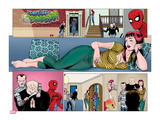 The Amazing Spider-Man No.643: Mary Jane Watson Reclining Poster by Paul Azaceta