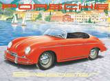 Porsche Speedster Emaille bord