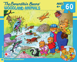 Woodland Animals - 60 Piece Puzzle 60 piece Puzzle Jigsaw Puzzle