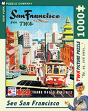 San Francisco 1000 piece Puzzle Puzzle