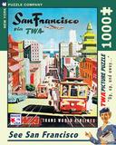 San Francisco 1000 piece Puzzle Jigsaw Puzzle