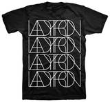 Ladytron - Logo (Slim Fit) T-Shirts