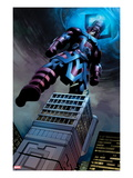 Fantastic Four 584: Galactus Flying Prints by Steve Epting