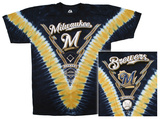 MLB: Brewers V-Dye T-shirts