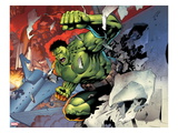 Incredible Hulks 614: Hulk Smashing Prints by Barry Kitson