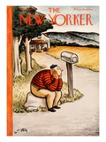 The New Yorker Cover - August 29, 1936 Regular Giclee Print by William Steig