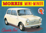 Morris Mini Minor Plaque en métal