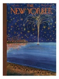 The New Yorker Cover - July 6, 1963 Premium Giclee Print by Anatol Kovarsky