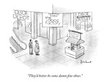 &quot;They&#39;d better be some damn fine oboes.&quot; - New Yorker Cartoon Premium Giclee Print by David Borchart