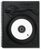 Black Notebook - Turntable Journal
