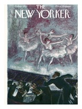 The New Yorker Cover - February 6, 1943 Regular Giclee Print von Julian de Miskey