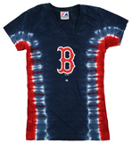 Juniors: MLB: Red Sox V-Dye T-shirts