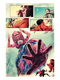 Hulk 26: Galactus Posing Prints by Mark Robinson