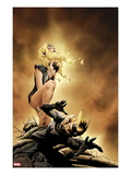 Atlas No.4 Cover: Namora Crouching Posters by Jae Lee