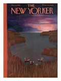 The New Yorker Cover - December 6, 1952 Giclee Print by Charles E. Martin