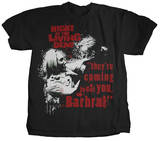 Night of the Living Dead - Barbara Tshirts