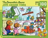 Jobs Around Town - 100 Piece Puzzle 100 piece Puzzle Jigsaw Puzzle