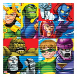 Marvel Super Hero Squad: Super Skrull, Mystique, Magneto, Dr. Doom, Doctor Octopus, and Sentinel Posters