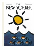 The New Yorker Cover - June 10, 1972 Premium Giclee Print by Donald Reilly