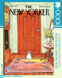 Dog Behind the Door 1000 piece Puzzle Jigsaw Puzzle