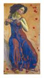 Entzücktes Weib, 1911 Affischer av Ferdinand Hodler