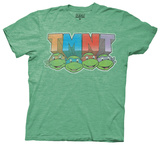 Teenage Mutant Ninja Turtles - Colored Faces T-Shirt