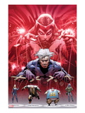 Ultimate Fallout No.5 Cover: Witch, Quicksilver, Sabretooth, Blob, and Mystique Prints by Bryan Hitch