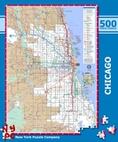 Chicago Subway 500 piece Puzzle Jigsaw Puzzle