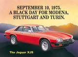 Jaguar Xjs Tin Sign