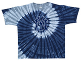 Yankees Spiral Dye T-shirts