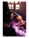New Avengers Annual 1: Wonder Man Screaming with Energy Poster by Gabriele DellOtto