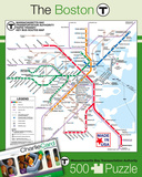 Boston Subway 500 piece Puzzle Jigsaw Puzzle