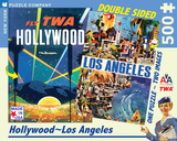 Los Angeles - 500 Piece Double Sided Puzzle 500 piece Double Sided Puzzle Jigsaw Puzzle