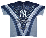 Youth: Yankees V-Dye Shirt