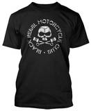 Black Rebel Motorcycle Club - Classic Skull &amp; Pistons (Slim Fit) Shirt